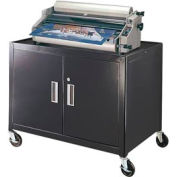 Mobile Metal Cabinet Cart - 36x24x29