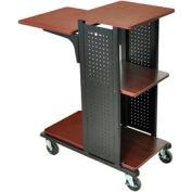 Open Shelf Boardroom Station No Electrical 18-1/4x34-1/2x41 Cherry