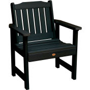 highwood® Lehigh Outdoor Garden Chair, Eco Friendly Synthetic Wood In Black