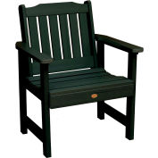 highwood® Lehigh Outdoor Garden Chair, Eco Friendly Synthetic Wood In Charleston Green