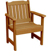 highwood® Lehigh Outdoor Garden Chair, Eco Friendly Synthetic Wood In Toffee