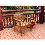highwood® Weatherly Outdoor Garden Chair, Eco Friendly Synthetic Wood In Toffee