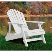 highwood® Hamilton Folding Adirondack Chair, Adult - White