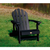 highwood® Hamilton Folding Adirondack Chair, Child Size - Black