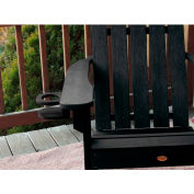 highwood® Adirondack Chair Screw On Cup Holder Attachment, Black