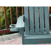 highwood® Adirondack Chair Screw On Cup Holder Attachment, Coastal Teak