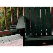 highwood® Adirondack Chair Screw On Cup Holder Attachment, Charleston Green