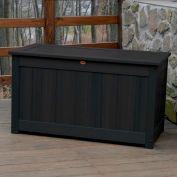 "Highwood® Deck & Patio Storage Box AD-DBXL1-BKE - 44""L x 24-15/16""W x 25-13/16""H, Black"