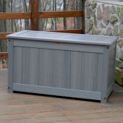"Highwood® Deck & Patio Storage Box AD-DBXL1-CGE - 44""L x 24-15/16""W x 25-13/16""H, Teak"