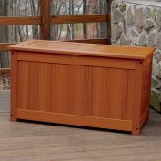 "Highwood® Deck & Patio Storage Box AD-DBXL1-TFE - 44""L x 24-15/16""W x 25-13/16""H, Toffee"