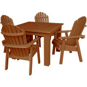 highwood® Hamilton 5pc Square Dining Set, Toffee
