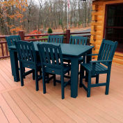 Highwood® Synthetic Wood 7 pc Set, 36 X 72, Nantucket Blue