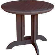 highwood® Round 48 Diameter Dining Table, Weathered Acorn