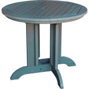 highwood® Round 48 Diameter Dining Table, Coastal Teak