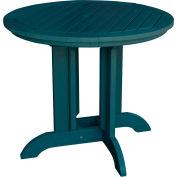 highwood® Round 48 Diameter Dining Table, Nantucket Blue