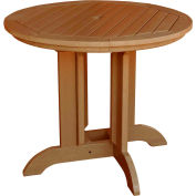 highwood® Round 48 Diameter Dining Table, Toffee