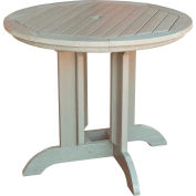 highwood® Round 48 Diameter Dining Table, Whitewash