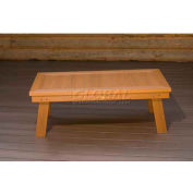 highwood® Pocono Deep Seating Patio Conversation Table - Toffee