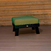 highwood® Pocono Deep Seating Patio Ottoman - Charleston Green/Palm (Sold in Pk. Qty 2) - Pkg Qty 2