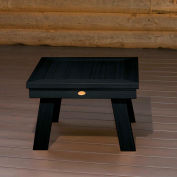highwood® Pocono Deep Seating Patio Side Table - Black