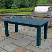 Highwood® Synthetic Wood Dining Table, 36 X 72, Nantucket Blue