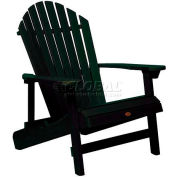 highwood® Hamilton Folding Adirondack Chair, King Size - Charleston Green