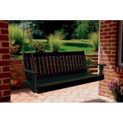 highwood® Lehigh 5' Wide Outdoor Porch Swing - Charleston Green