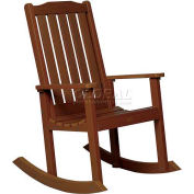 highwood® Lehigh Outdoor Rocking Chair - Weathered Acorn
