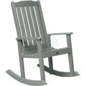 highwood® Lehigh Outdoor Rocking Chair - Coastal Teak