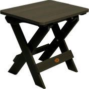 highwood® Hamilton Folding Adirondack Side Table - Black