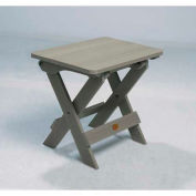 highwood® Hamilton Folding Adirondack Side Table - Coastal Teak