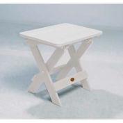 highwood® Hamilton Folding Adirondack Side Table - White