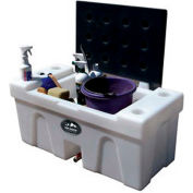 High Country Plastics Bench Water Caddy, BC-25AG, 25 Gallons