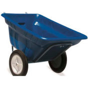 High Country Plastics Dura Cart, DC-11B-WF, 11 Cu. Ft., Worry Free
