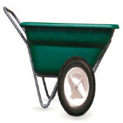 """High Country Plastics Dura Cart/Dolly, DC-7-WF, 7 Cu. Ft. with 16"""" Bike Tire Worry Free"""