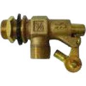 "High Country Plastics Brass Float Valve For Water Tanks, ZM-6050, 3/4"""