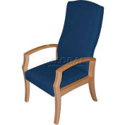 HPFI® Unos High-Back Patient's Chair, Sky