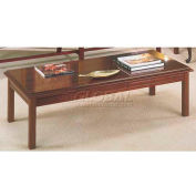 HPFI Bedford Traditional Cocktail Table W/High-Gloss, High Pressure Laminate Top, 54X24X16