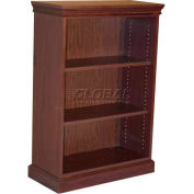 HPFI Traditional Bookcase W/Two Adjustable Shelves, 36X16X52