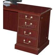 HPFI Right Compact Desk Height Return W/High-Gloss High-Pressure Laminate Tops, 36X24