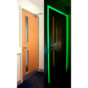 "Heskins Photoluminescent Egress Tape, Glow In The Dark, 2"" x 30'"