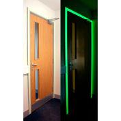 "Heskins Photoluminescent Egress Tape, Glow In The Dark, 2"" x 30'"