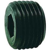 "1/8"" NPTF Socket Head Pipe Plug - 7/8"" Taper - Flush Seal - Steel - Pkg of 100 - Holo-Krome 12004"