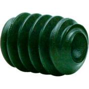 "#5-40 x 3/16"" Hex Socket Set Screw - Cup Point - Alloy Steel - Black Oxide - USA - Pkg of 100"