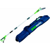 "GreenWorks® 20192 8"" Corded Pole Saw, 6.5AMP w/ Case"