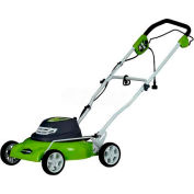 """GreenWorks™ 18"""" 12A Corded 2-in-1 Mower, W/ 7 Cutting Heights"""