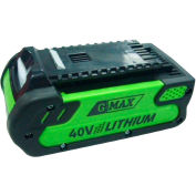 GreenWorks® 29462 40V Li-Ion G-MAX Battery 2Ah Extended Capacity