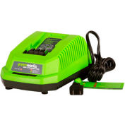 GreenWorks® 29482 G-MAX Lithium-Ion Charger, 40V