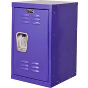 "Hallowell HKL1515(24)-1PR Kid Mini Locker, 15""W x 15""D x 24""H, Pep Rally Purple"