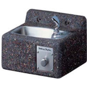 Halsey Taylor Sierra Stone Face-Mounted Frost-Resistant I/O Fountain, 4592
